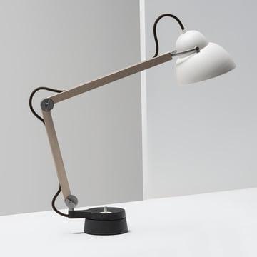 Wästberg – Studioilse bordlampe w084t2, brun ledning, studie