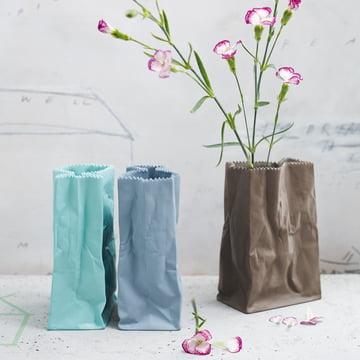 Rosenthal – Paper Bag vase, farvet