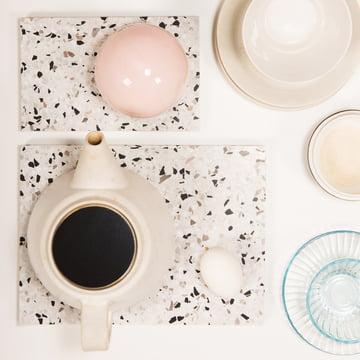 OK Design – Confetti stort, sort/hvid
