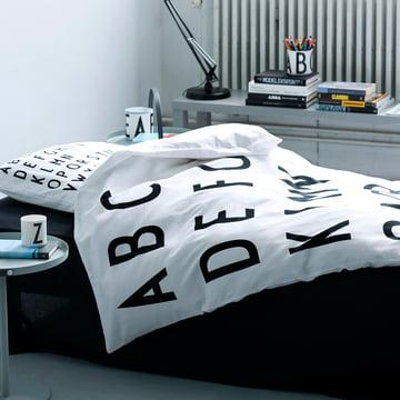Design Letters – ABC sengetøj, 140 x 200 cm (DK)