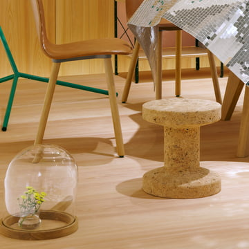 Vitra – Cork family – loungestol – Eames Occasional bord