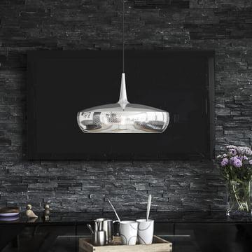 Clava Dine i rene, diskrete og minimalistisk møblerede rum