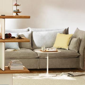 Maksimal komfort med Mariposa sofaen fra Vitra