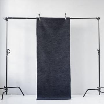 Menu – Norm løber rektangulær, mørk marineblå/grå