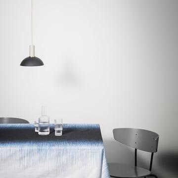 Hoop lampeskærm i lyseblå fra ferm Living