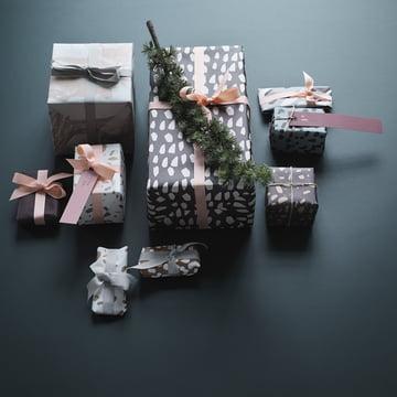 Gavemærker og gavepapir fra ferm LIVING