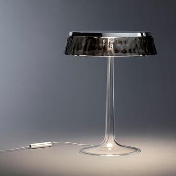 Bon Jour bordlampen fra Flos i krom/krone røgfarvet