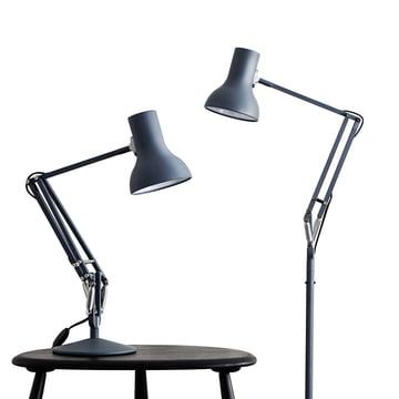 Type 75 bordlampe og standerlampe