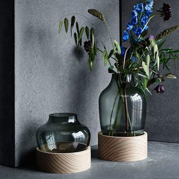 Vase fra Fritz Hansen i glas