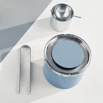Stelton – Cylinda-Line termo-isspand 1 l, Smokey Blue (50-årsjubilæumsudgave)