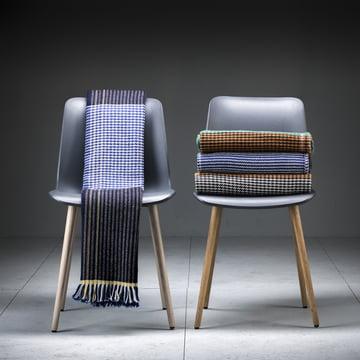 Ruana plaid med stole