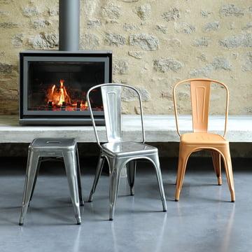 Tolix's A Chair indendørs