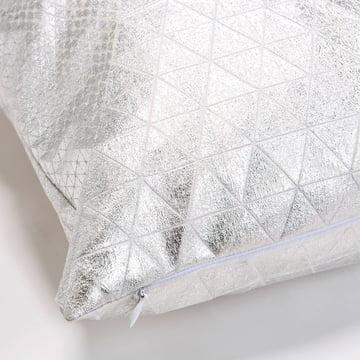 Mika Barr - Bling pudebetræk, 50 x 50 cm, sølv