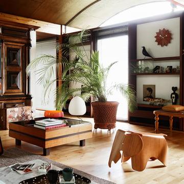 Nelson Fan ur, Eames elefant og Eames Housebird fra Vitra