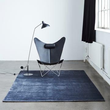 Massimo – Bamboo tæppe med stol og lampe