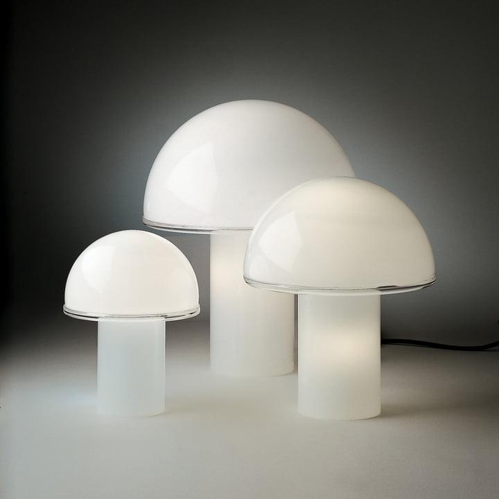 Artemide – Onfale Tavolo bordlampe