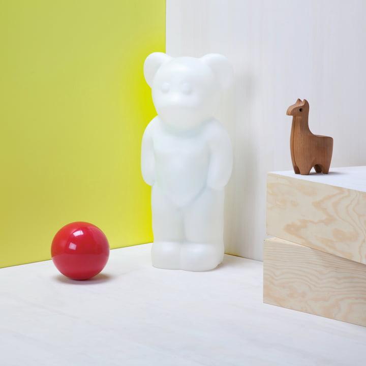 Authentics – Lumibär, stemningsbillede, hvid
