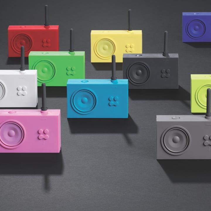Tykho Radio designet af Marc Berthier for Lexon