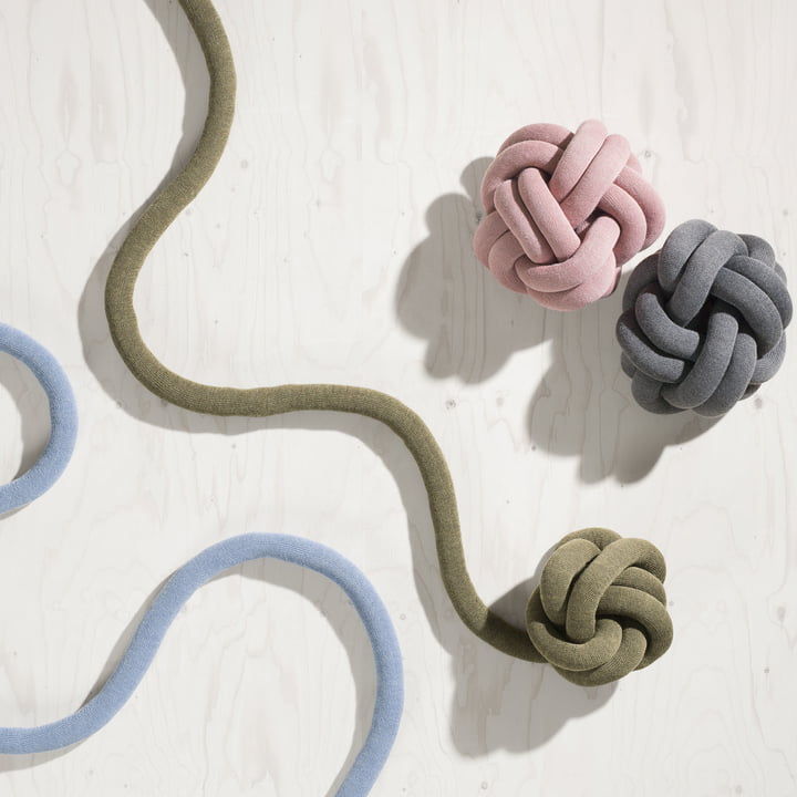 Knot puden fra Design House Stockholm