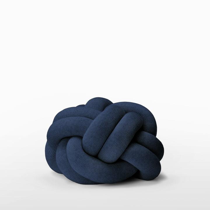 Knot puden fra Design House Stockholm i navy