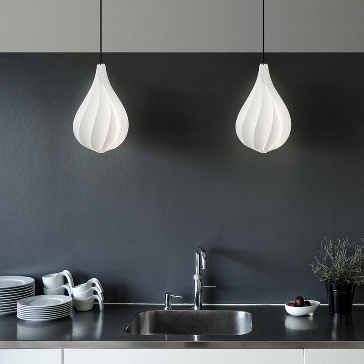 Alva lampeskærmen til køkkenet