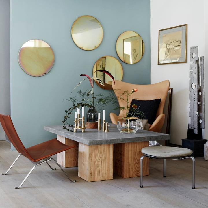 Fritz Hansen - Studio Roso spejl rund, Ø 55 cm