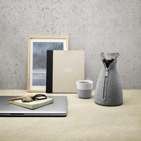 Eva Solo - CafeSolo kaffemaskine Vævet 1 l, lysegrå
