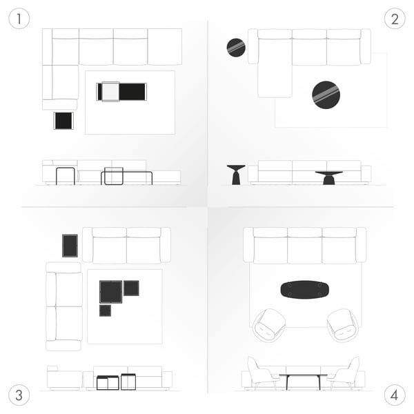 Sofaborde Grafisk - Levesituationer